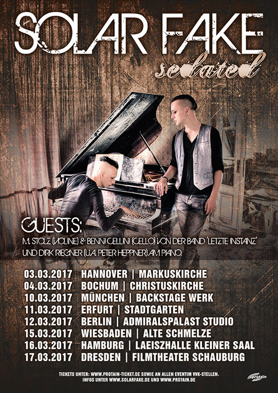 Solar Fake auf Acoustic Tour