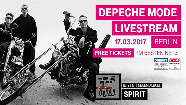 Depeche Mode live im Funkhaus Berlin
