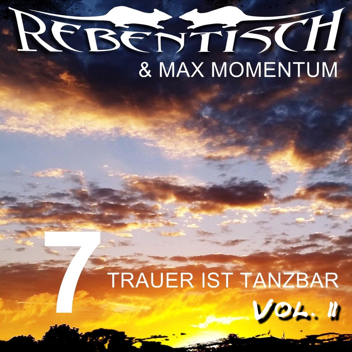 """Rebentisch und Max Momentum - Durch Dich (Cruising area rmx) - Rebentisch und Max Momentum - """"7"""" Trauer ist Tanzbar"""